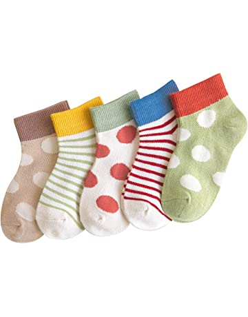 12 paia di calzini da ragazza colori assortiti 95/% cotone Laake