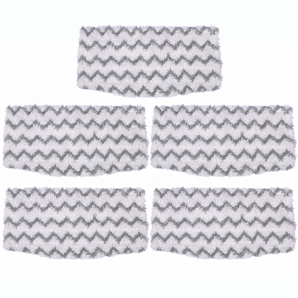 KEEPOW 5 Packs Steam Mop Pads Replacement for Shark Vacuum Cleaner S1000A