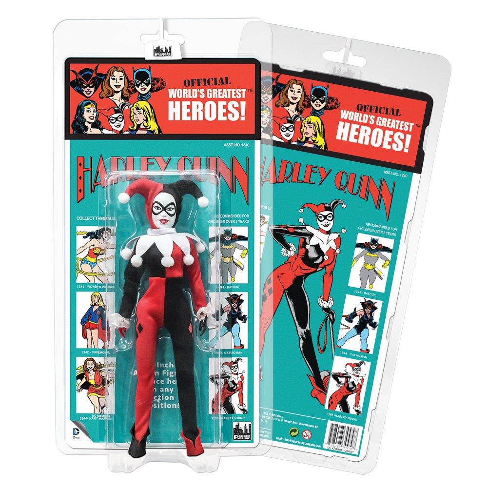 DC Comics Retro Kresge Style Action Figures Series Series Series 3: Harley Quinn by Figures Toy Company 81818f
