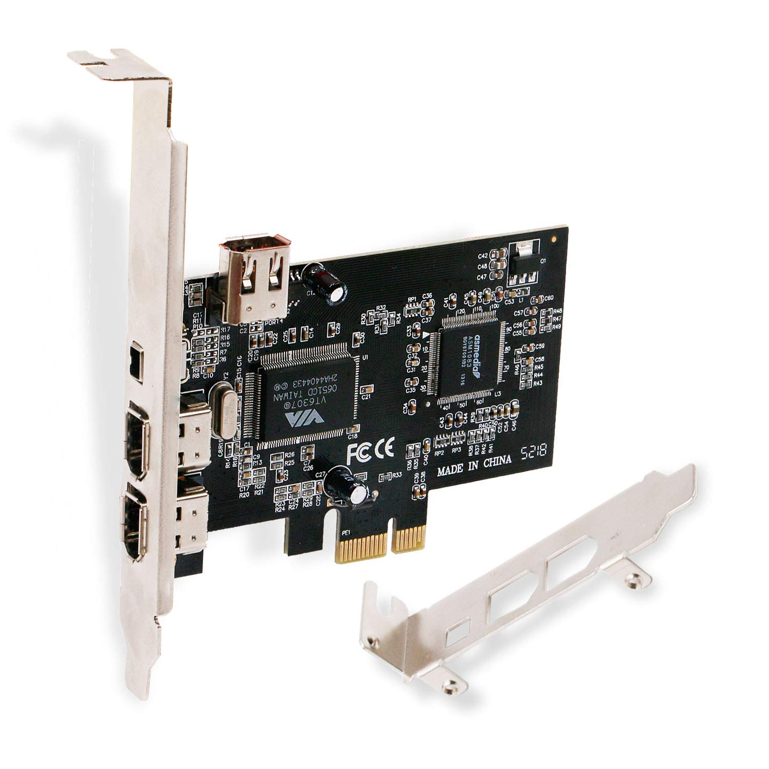 Tarjeta Pcie Firewire Linkstek Para Windows 98/2000/2003 / Xp / Vista / 7/8 / 8.1 / 10 / Servidor Pc De Escritorio (32 /