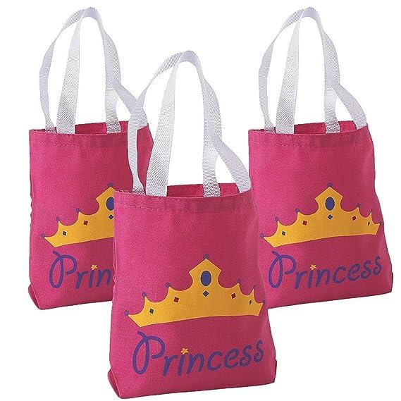 2 x Color Rosa Princesa funda obsequios Bolsa Bolsa de bolsa ...