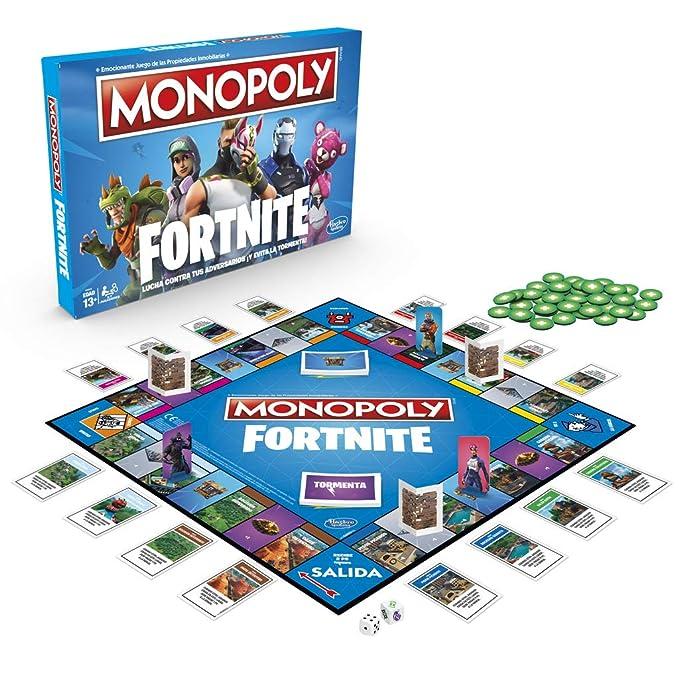 Monopoly Fortnite (Versión Española), multicolor (Hasbro E6603105)