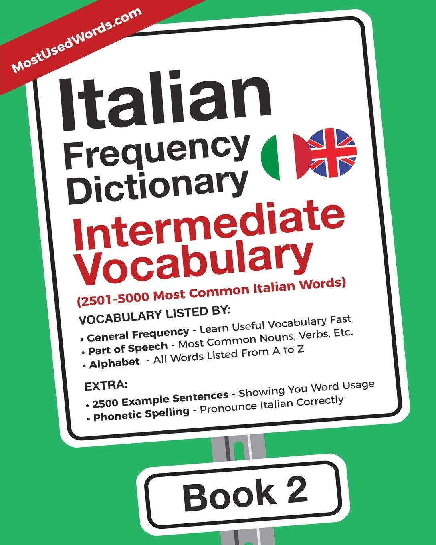 Italian Frequency Dictionary - Intermediate Vocabulary: 10-10