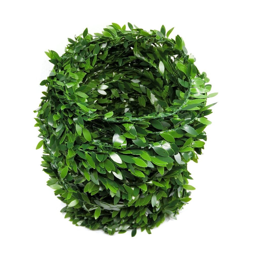 22.5 Meter Artificial Ivy Fake Vine,Dancepandas Garland Foliage Green Leaves for Wedding Party Garden Wall DIY Headbands Decoration