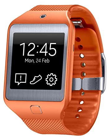 "New! Samsung Galaxy Gear 2 Neo SM-R381 (WILD ORANGE) Smartwatch , 1.63"" Super AMOLED..."