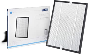 DeLonghi AC 75 purificador de aire Negro, Blanco - Filtro de aire ...