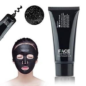 FaceApeel Blackhead Remover Masque [Elimine les points noirs] - Premium qualité Black Pore Removal Peel Off Strip Masque pour le nez Visage Traitement de l'acné - Best Masque Facial Boue 60g (2.11 Oz)