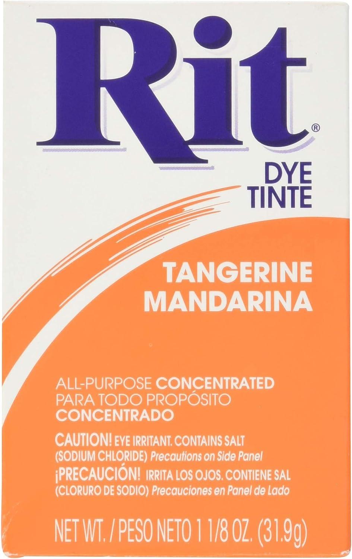 Rit Dye Powdered Fabric Dye, Tangerine