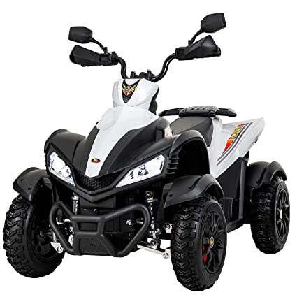 Amazon Com Uenjoy Atv For Kids 4 Wheeler Quad 12v Electric Ride On