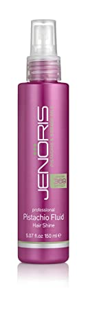 Jenoris Pistachio Fluid – Hair Shine Silicon Hairspray 5.07 fl.oz 150 ml. Hair care products for women and men Infused with Pistachio Oil providing moisture and shiny volume throughout the day