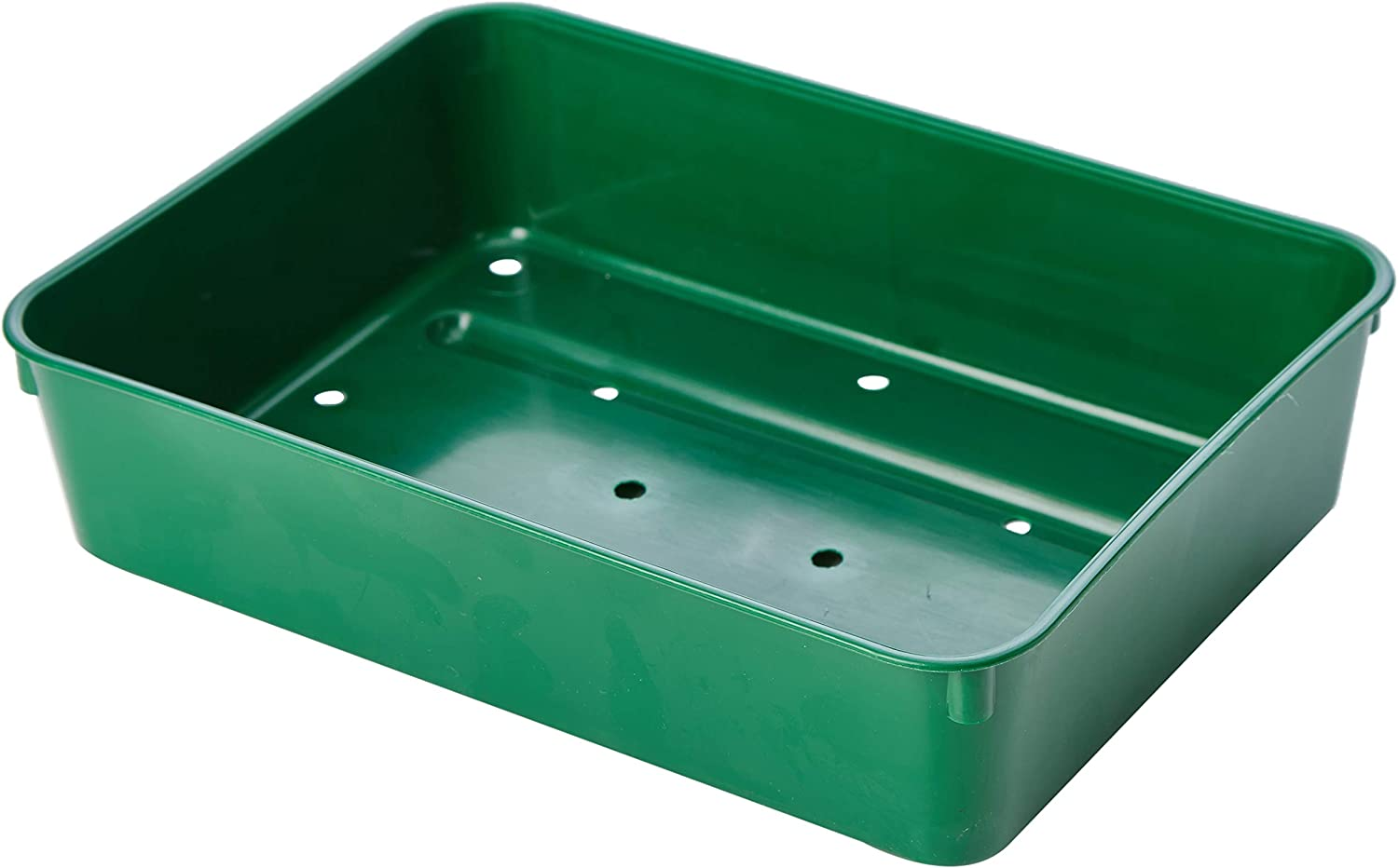 x 42cm H 52cm Greenhouse /& Conservatory Seed Tray Large Garden W Set of 5 Green Trays L x 8cm