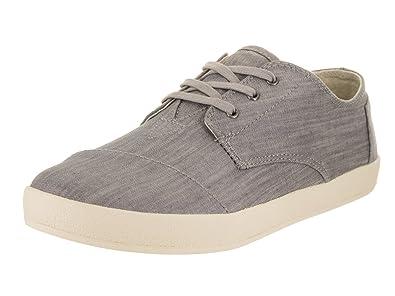 TOMS Mens Paseo Grey Denim Sneaker 7 D