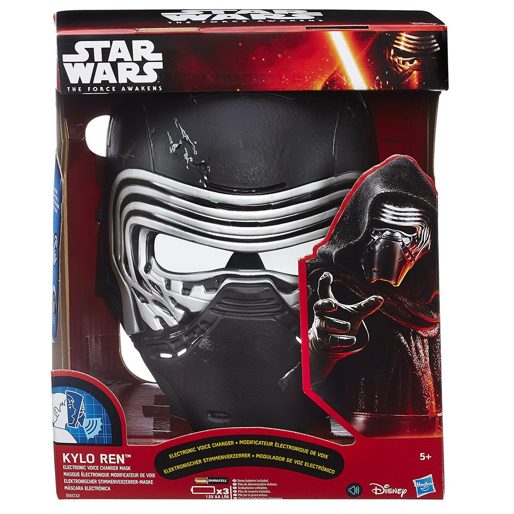 Amazon.com: Star Wars - Kylo Ren Voice Changer Mask: Cell Phones & Accessories