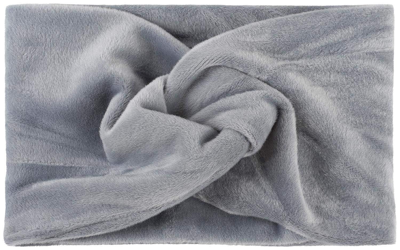 styleBREAKER Fascia per Capelli da Donna in Look di Velluto con Nodo e Fascia Elastica Fascia per la Testa 04026040