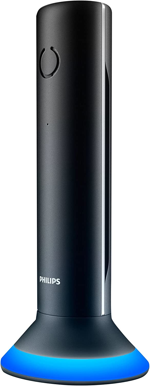 PHILIPS M3451B/90 Teléfono Inalámbrico Color Negro, Manos Libres