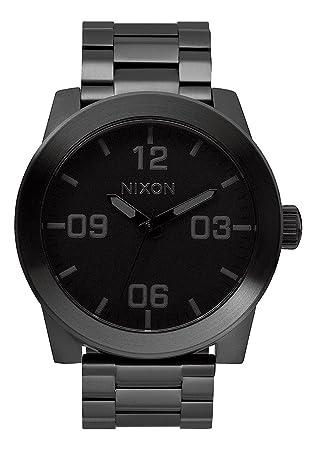 Nixon Reloj Analógico para Hombre de Cuarzo con Correa en Acero Inoxidable A346-001-00: Amazon.es: Relojes