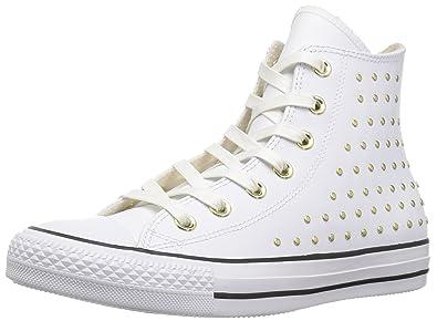 3a115ad1016e Converse Women s CTAS HI White Gold Sneaker Optical
