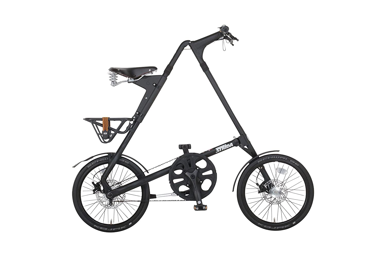STRIDA(ストライダ) 折りたたみ自転車 18インチ シングルスピード STRIDA SX アルミフレーム B06XWGXD5Fマットブラック