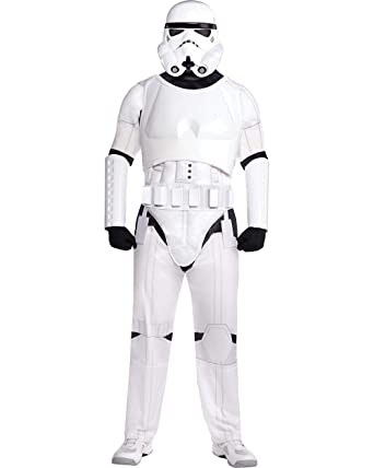 Costumes USA Star Wars Stormtrooper Costume for Adults, Standard Size, Includes a Jumpsuit, a Mask, a Belt, and More