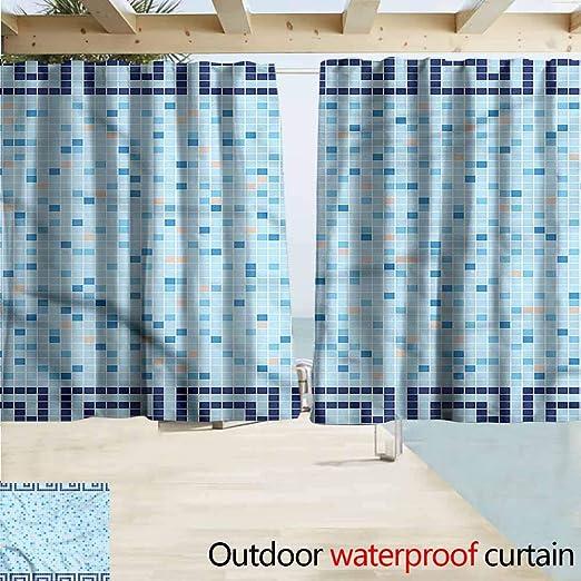 MaryMunger - Cortina para Puerta corredera, diseño de Azulejos ...