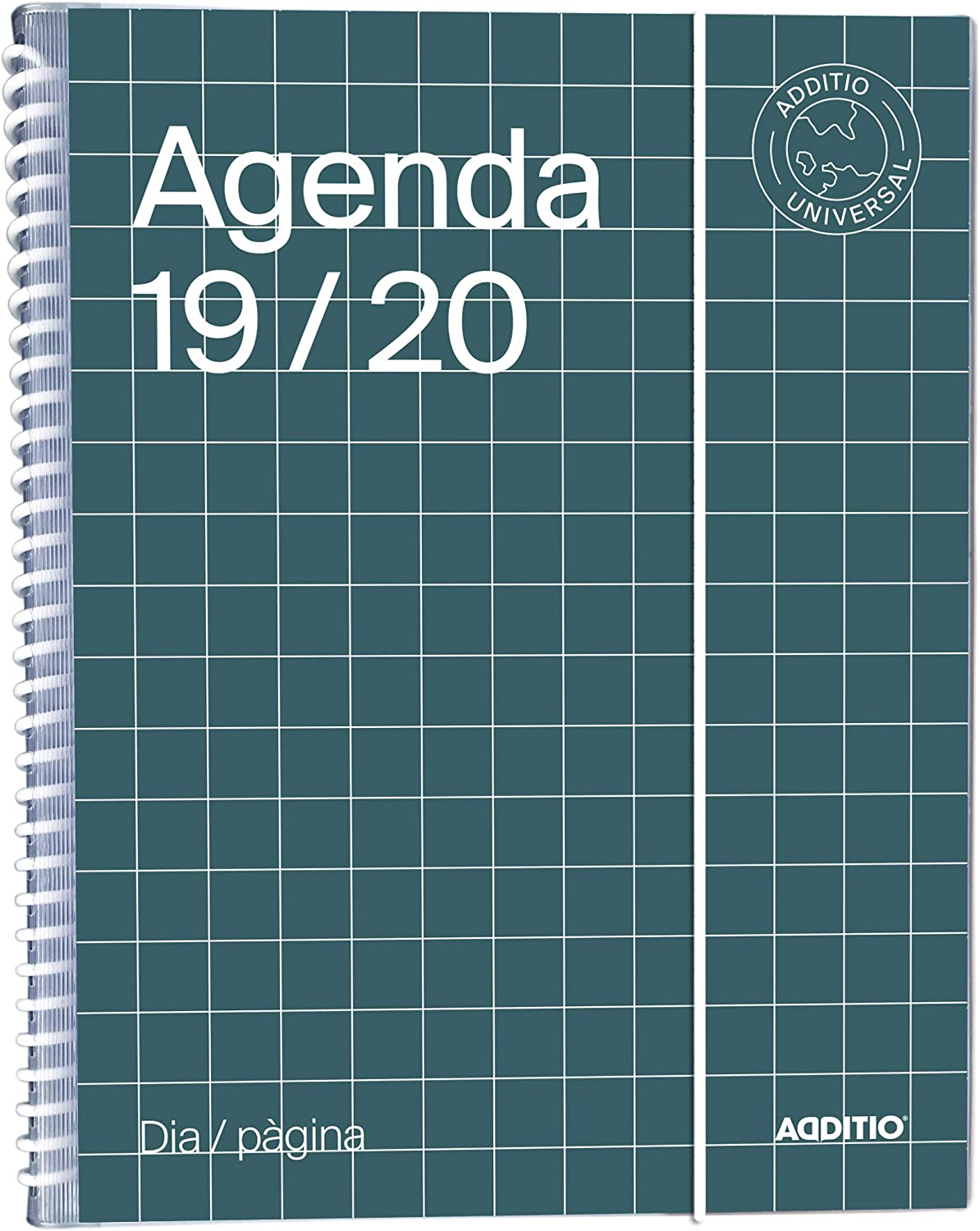 Agenda Universal catalán 2019-20 Día Página Additio: Amazon ...