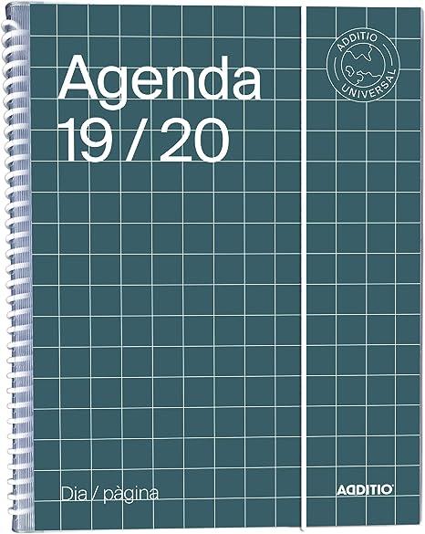 Amazon.com : Universal Catalan Agenda 2019-20 Day Page ...