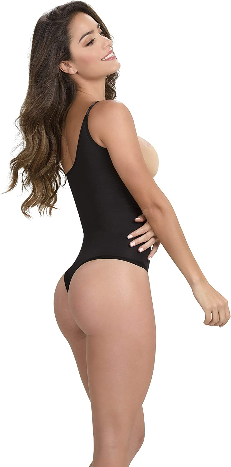 Womens Bodysuit Light Shaper Thermal Thong Light Compression Shapewear Faja