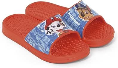 Chanclas Patrulla Canina para Playa o Piscina - Chanclas Paw Patrol para niños (Rojo, 30): Amazon.es: Zapatos y complementos