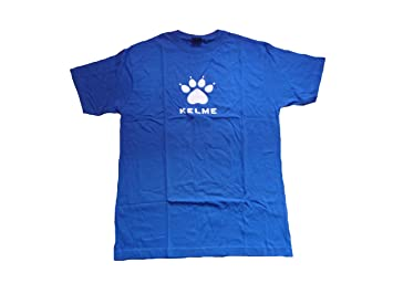 Camiseta/Maillot fútbol Kelme azul talla: M