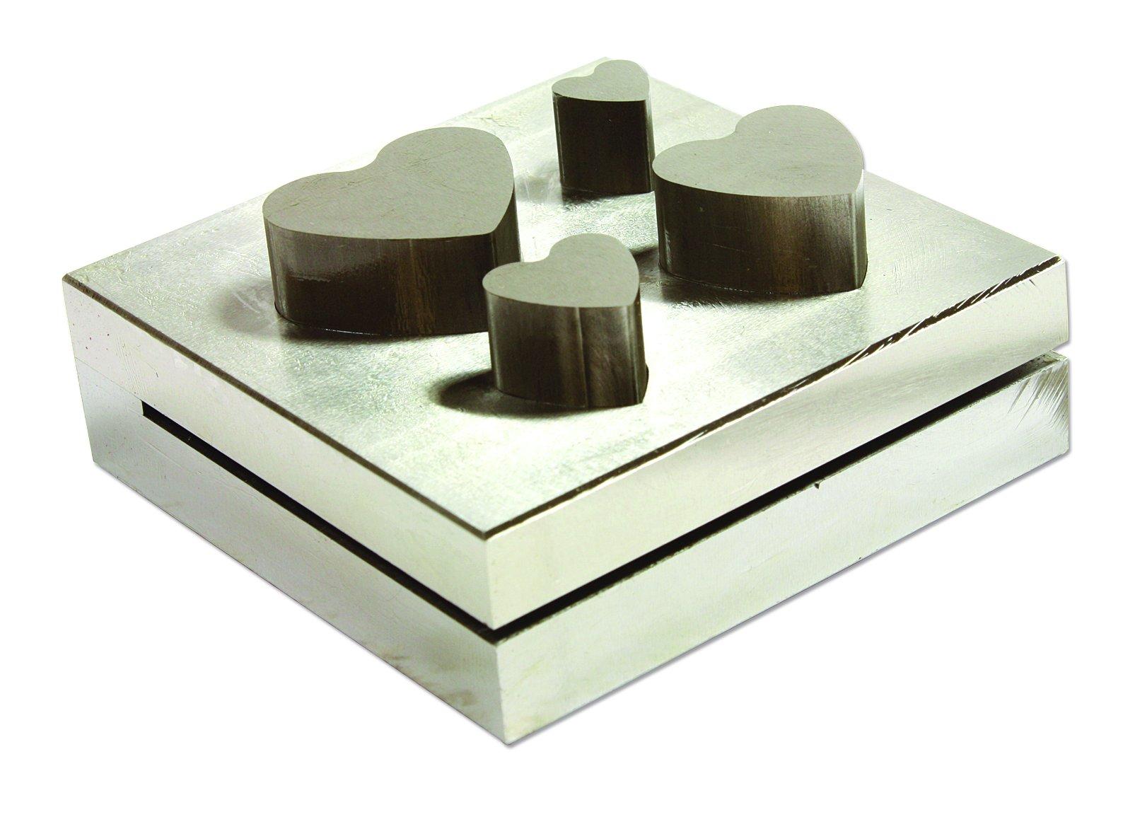 Disc Cutter Heart Set Of, 4 Sizes(11,16,22,25mm) - DP2404