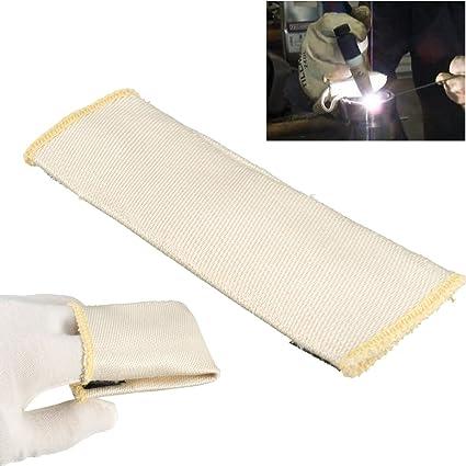 MASUNN Protección De Soldadura De Dedo Tig Guantes Protector De Calor Protector Para Soldar Soldadura