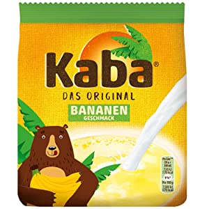 KABA of Germany Hot/cold BANANA milk mix IMPORTED from GERMANY-400 g