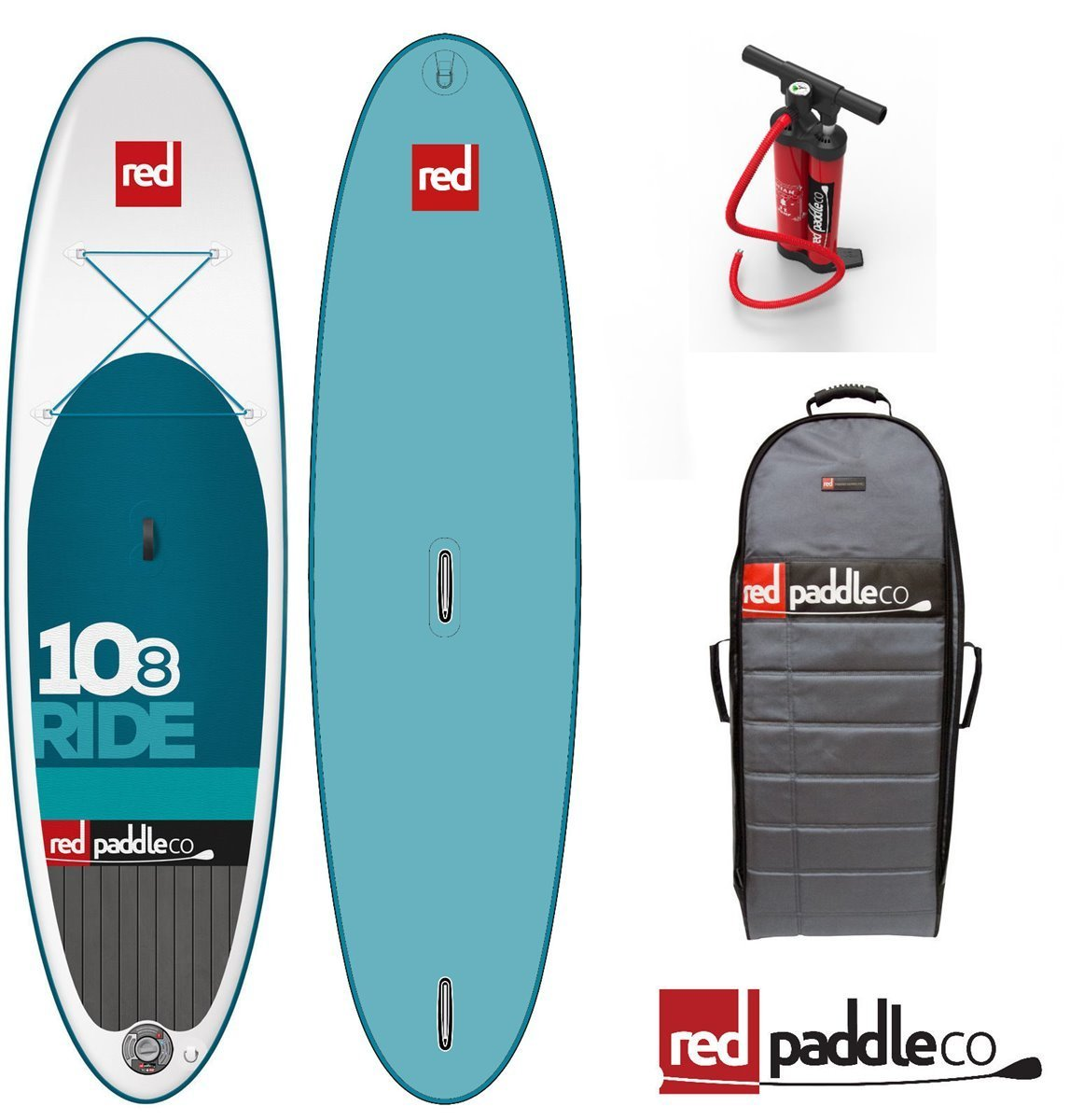Red Paddle Ride Windsurf Juego 10.8 Stand Up Paddle Tabla de Surf Board: Amazon.es: Deportes y aire libre