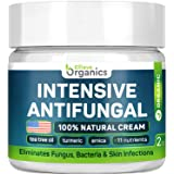 Antifungal Cream - Extra Strength - Made in USA - Effective Toenail Fungus Treatment and Ringworm Treatment for Humans - Comb