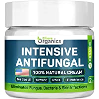 Antifungal Cream - Extra Strength - Made in USA - Effective Toenail Fungus Treatment...