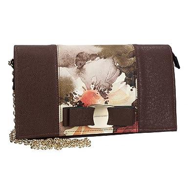5f23594c0b Sac bandoulière femme mini PIERRE CARDIN brun foncé LOUIS 19: Amazon.fr:  Vêtements et accessoires