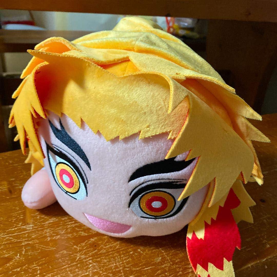 Demon Slayer Kyojuro Rengoku Big Plush Doll 40cm Sega Prize Kimetsu no Yaiba