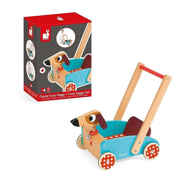 Amazon.com: Janod Crazy Doggy Cart: Toys & Games