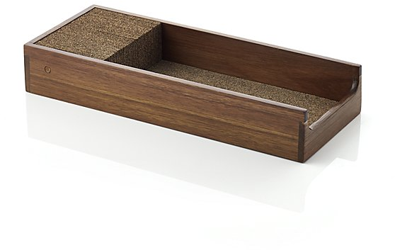 Acacia Knife Dock | Crate and Barrel