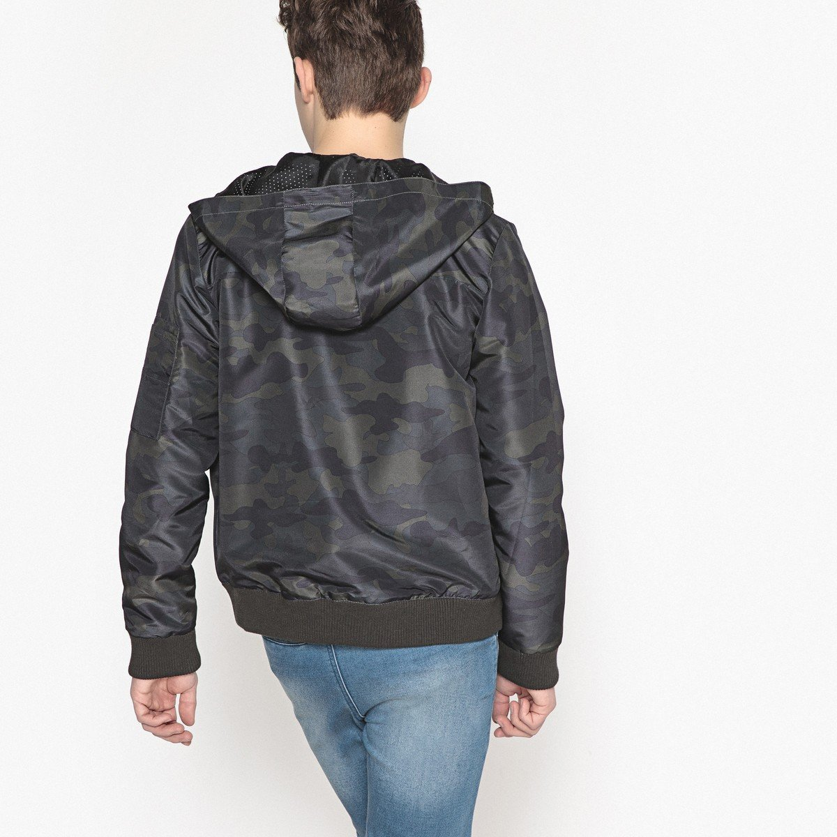 La Redoute Collections Big Boys Hooded Jacket