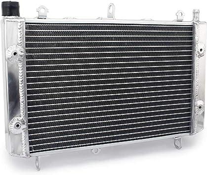 Tarzon Wasserkühler Motorkühlung Kühler Aluminum Radiator Für Yamaha Fzs 1000 Fazer 01 05 Fzs 1000 S Fazer 03 05 Auto