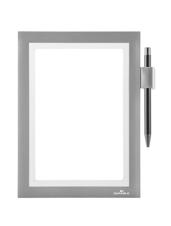 Durable 499423 Info-Rahmen Duraframe Note (A5 mit Magnetverschluss ...