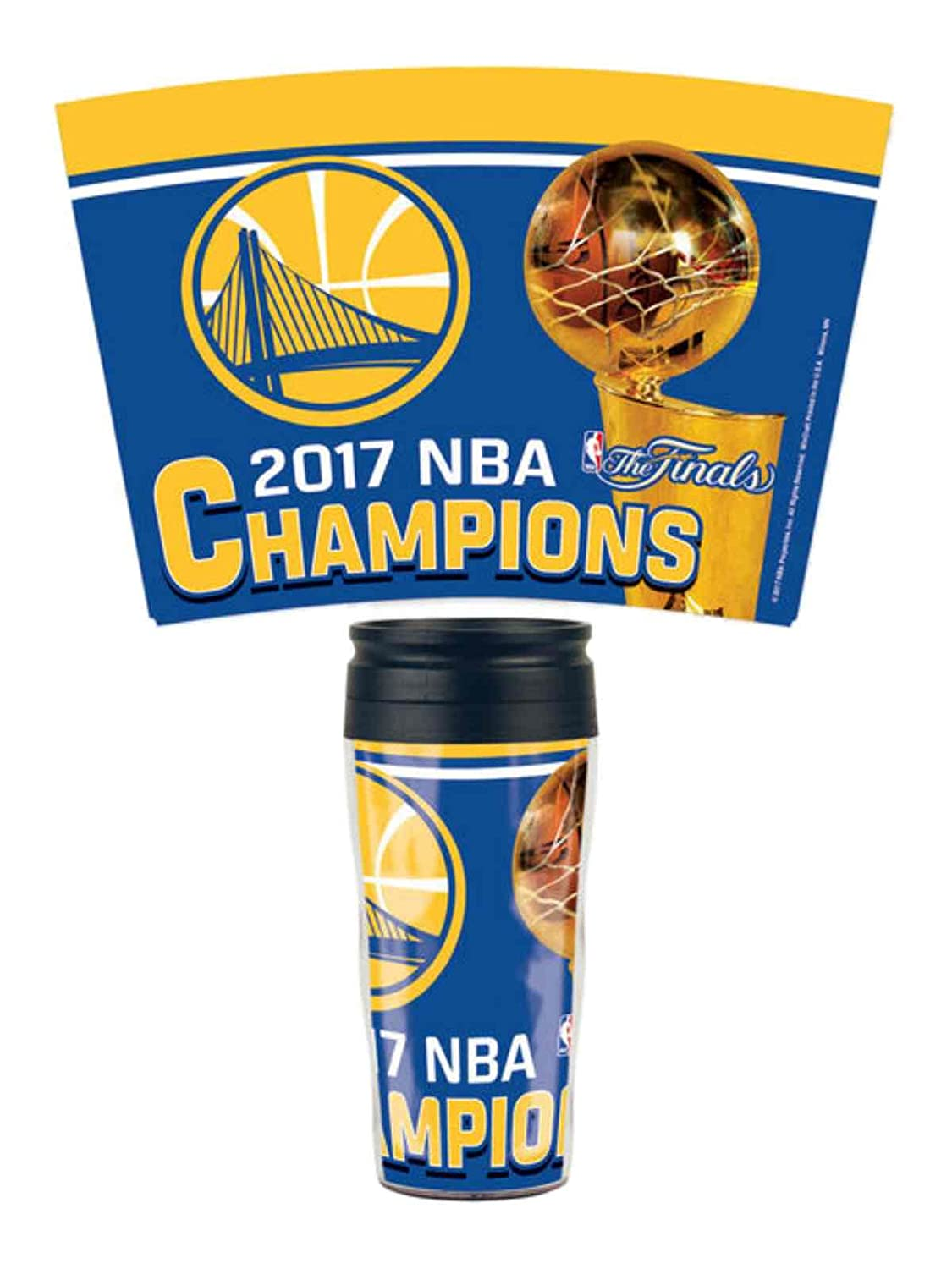 Wincraft NBA GOLDEN STATE WARRIORS 2017 Champions Travel Mug