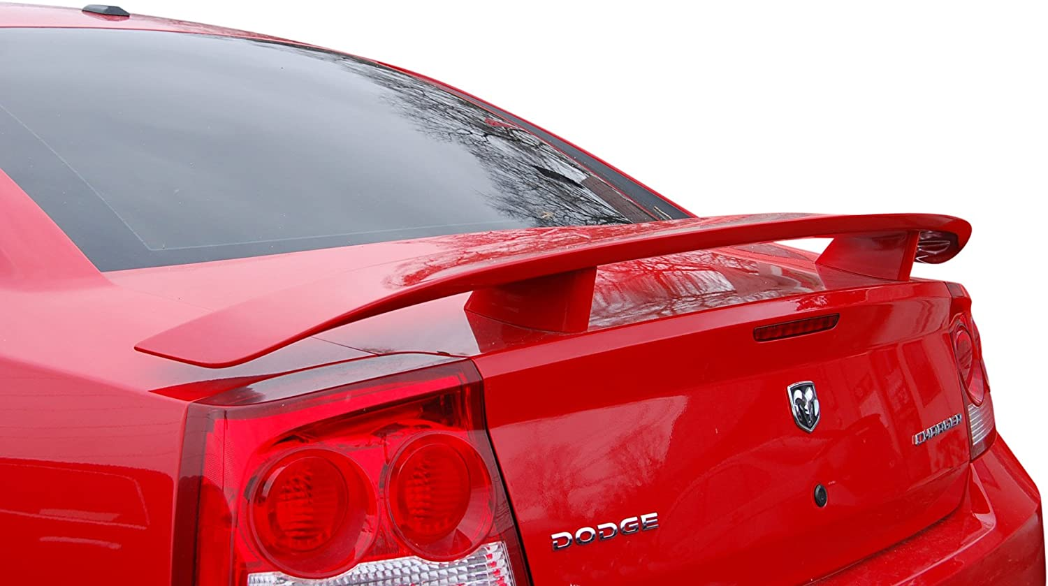 Factory Style Spoiler for the Charger Painted in the Factory Paint Code of Your Choice 250 Silver Steel Metallic PA4