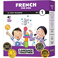 French for Kids: 10 First Reader Books with Online Audio and 100 Vocabulary Words (Beginning to Learn French) Set 1 by…
