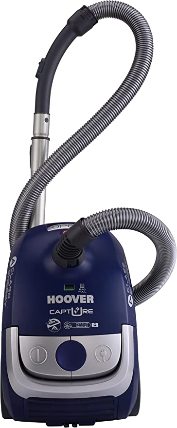 Hoover CP70_CP50 Aspirador Con Bolsa, Cla.A, 700W, Mascotas, 700 W, 2.3 litros, 85 Decibelios, Azul Java: Amazon.es ...