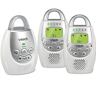 VTech DM221-2 Safe & Sound Digital Audio Baby Monitor with Two Parent UnitsVTech DM221 Digital Audio Baby Monitor