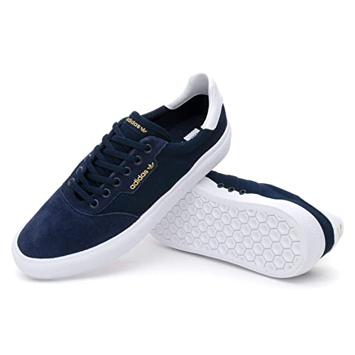 innovative design 8941b a4e40 ADIDAS SKATEBOARDING 3MC Collegiate Navy Feather White Amazon.co.uk Shoes   Bags