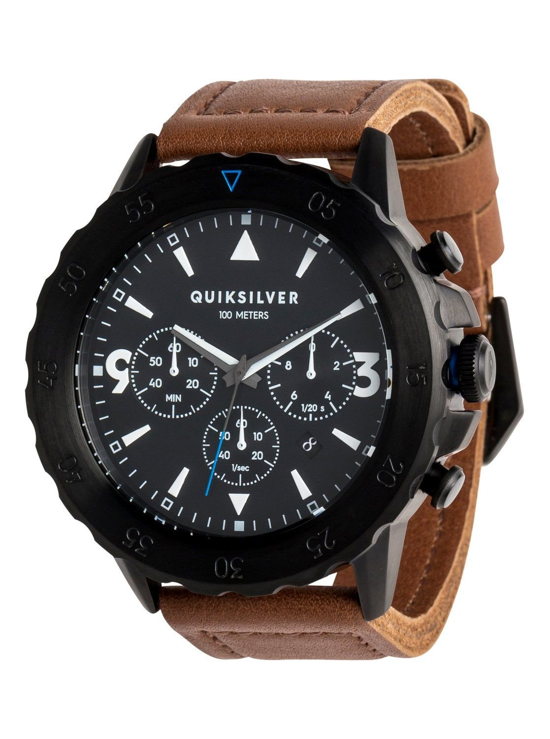 Quiksilver B-52 Chrono Leather analogik watch EQYWA03020