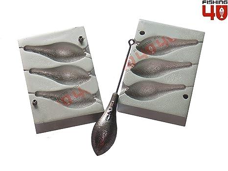 Moldes para señuelos de pesca Ballerina Mould